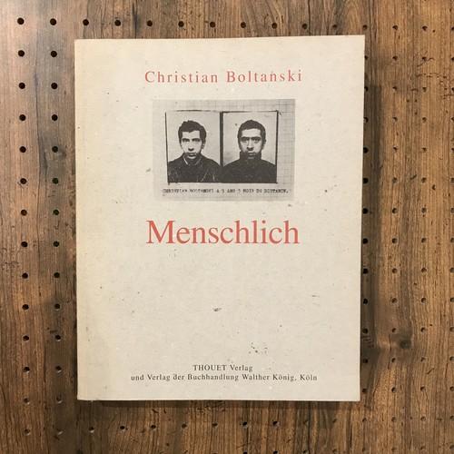 Menschlich/Christian Boltanski(クリスチャン・ボルタンスキー)