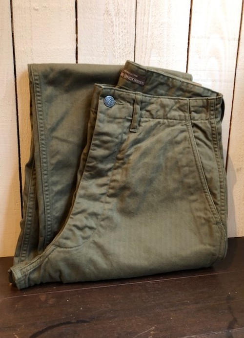 """WORKERS   """"OFFICER TROUSERS(VINTAGE FIT)"""""""