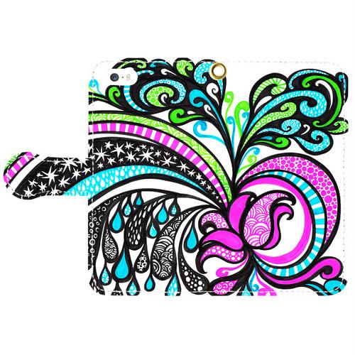 ◆手帳型スマホケース◆ 【ロータス(蓮)LOTUS】 iPhone5/5s 6/6s Android S/Mサイズ対応