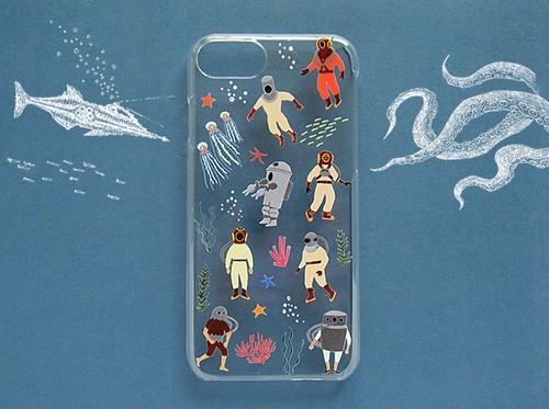 潜水服は時の夢を見る iPhoneケース
