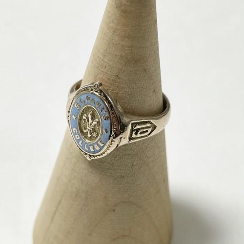 Vintage St. Poul's College 10K GOLD Ring