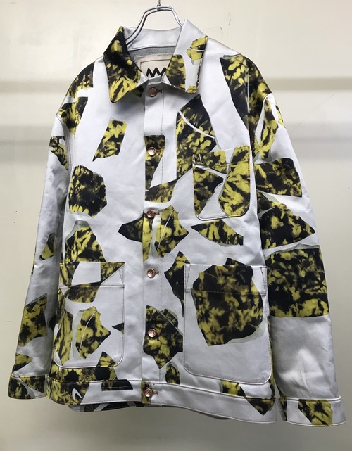 ALEX MULLINS TIEDYE WORKER JACKET SMASHED KILLER BEE
