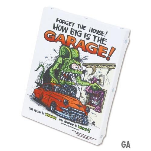 RatFink Art Canvas M (RAF453GA:GARAGE)