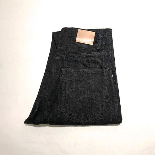 HATSKI Loose Tapered Denim Black Denim