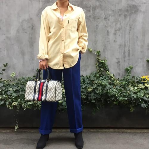 GUCCI yellow shirt