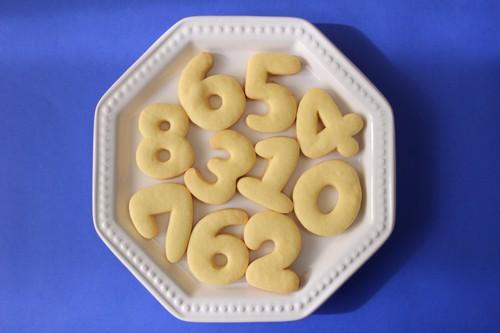 【セット販売】数字 クッキー抜き型