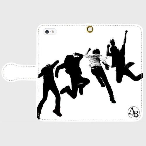 Ascension Blue iPhone5/5s手帳型スマホケース