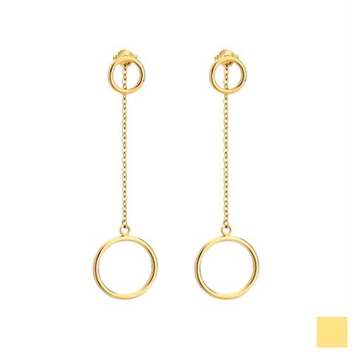 ring chain 2way pierce