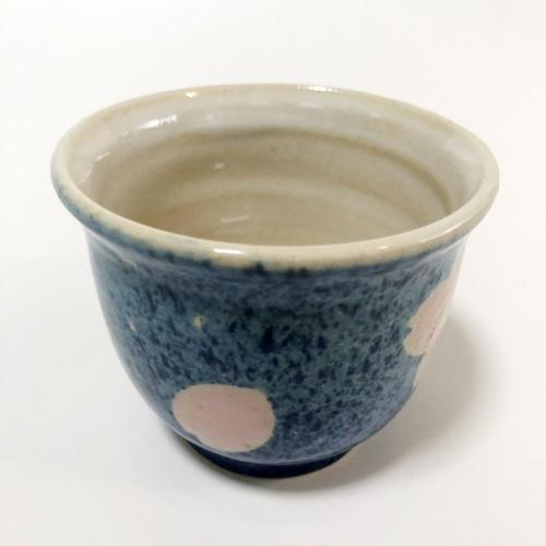 手づくり陶芸 湯呑 Pottery Yunomi (teacup), handmade, hand-painted