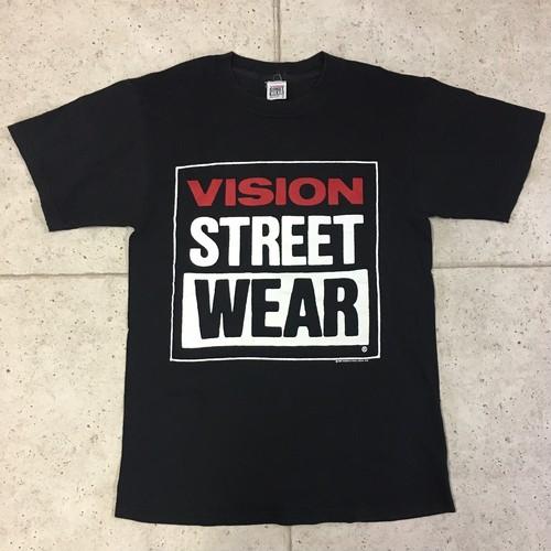 80s VISION STREET WEAR  コピーライト入り  Tシャツ  size:M