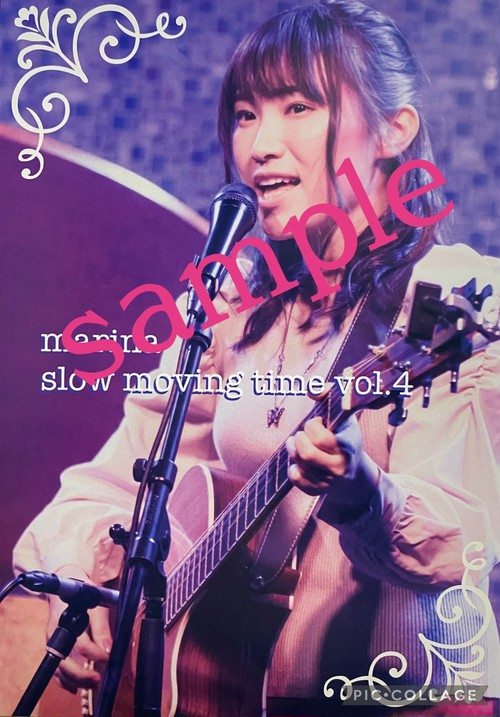 LIVE DVD marina slow moving time vol.4