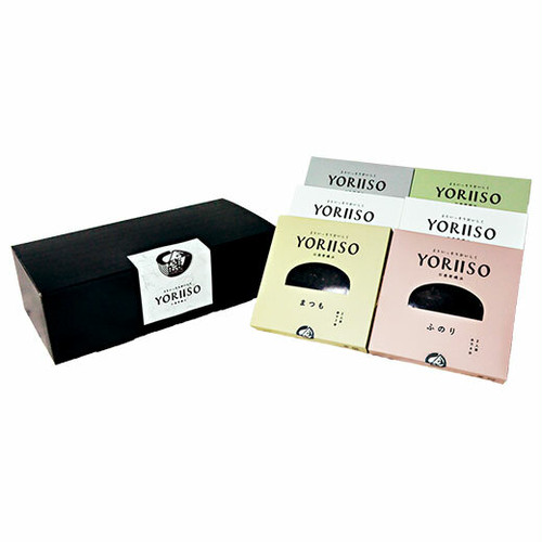 YORIISOギフト 海藻5種セット (6箱入/レシピ付き)