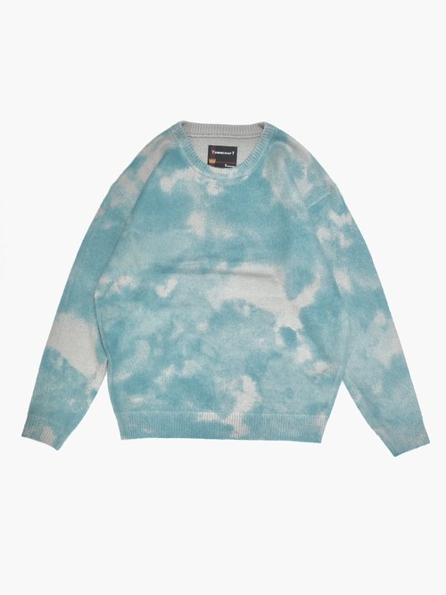 【TOWN CRAFT】tie-die crewneck sweater