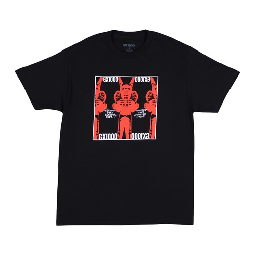 GX1000 WITHOUT FEAR TEE BLACK