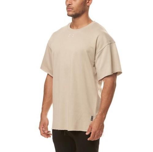 完売御礼【ASRV】フレンチテリー オーバーサイズTシャツ - Sand Smoke