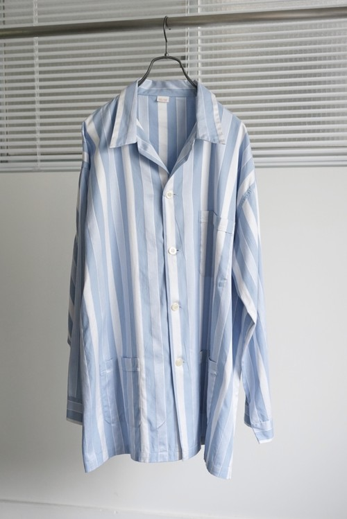 <SOLD OUT>French Vintage - Pajama Shirt Stripes 1970's