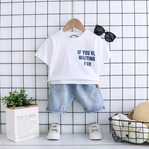 半袖プリントTシャツ(セットアップ)
