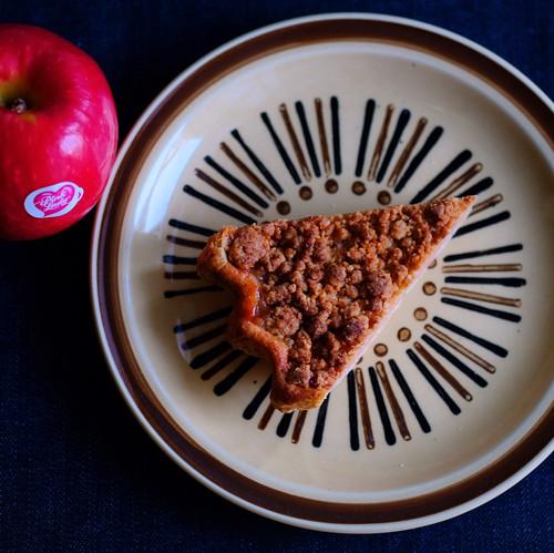 大人のアップルパイ【アップルブランデー使用】【1カット単品】【冷凍】【常温品と別送】