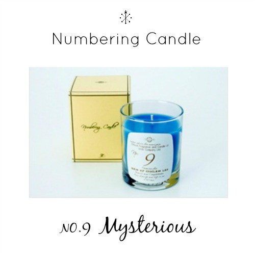 Numbering Candle NO.9