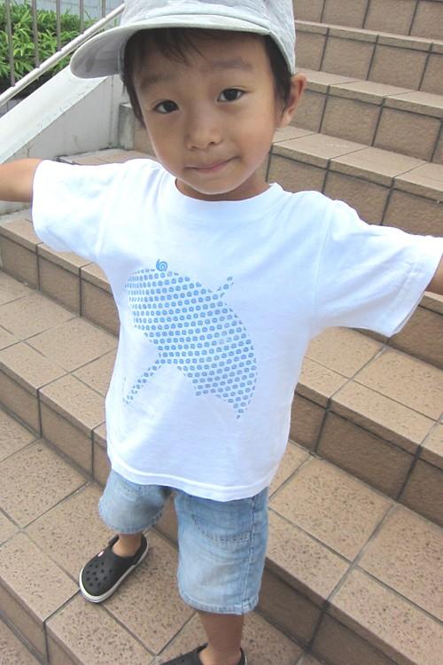 umbrella - 傘 - キッズ半袖Tシャツ 親子おそろいTシャツ
