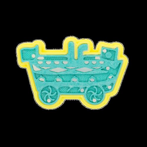 クッキー型:岡山 倉敷蒸気船
