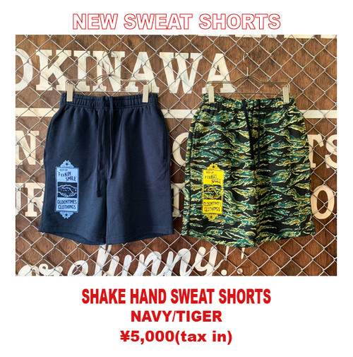 SHAKE HAND SWEAT SHORTS