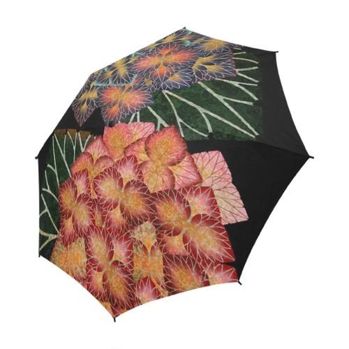 紫陽花 折りたたみ傘