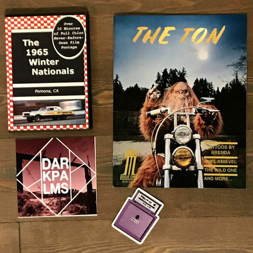 The Ton #1 + The 1965 WinterNationals DVD + Dark Palms CD special pack