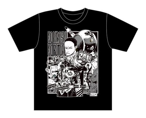 【黒・モノクロ】サイバーコネクトツー松山洋 x jbstyle. コラボTシャツ
