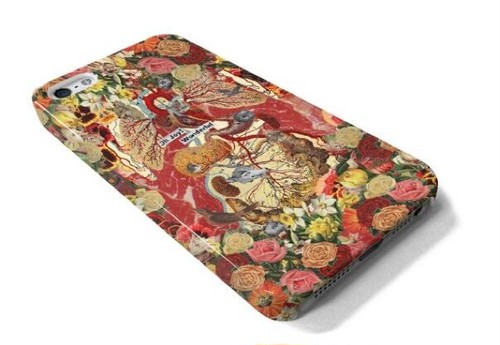 Collage iPhone Cases『Nebe květ』