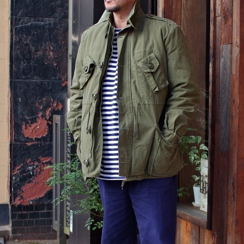 """1990s Canadian Army """"GS MK II"""" Combat Coat with Liner / カナダ軍 ライナー付き フィールド ジャケット"""