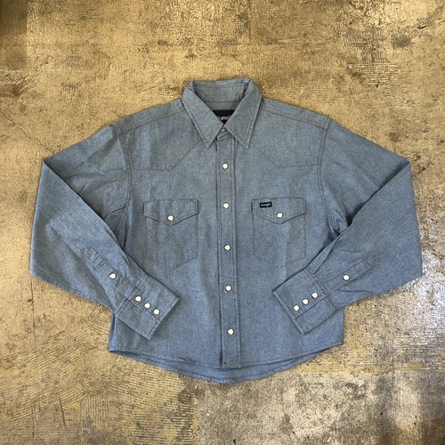 Wrangler Western Shirts ¥5,900+tax