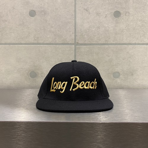 HOOD HAT LONG BEACH SNAPBACK / BLACK