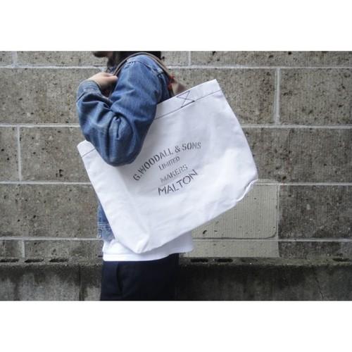 G.WOODALL&SONS (ジョージウッドオールアンドサンズ) SHOULDER BAG POPPER ホワイト