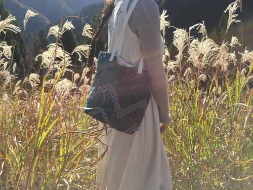 Eco Kantha bag ビンテージカンタのトートバッグ