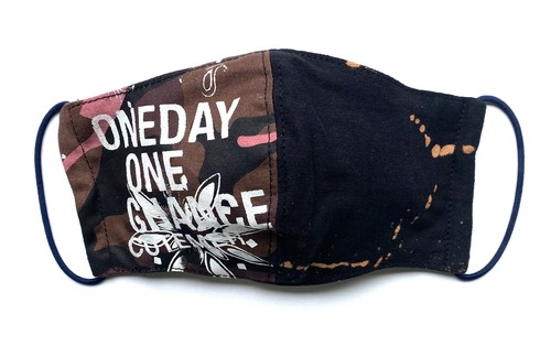 【COTEMER マスク 日本製】ONE DAY ONE CHANCE MILITARY × BLEACH MASK 0428-103