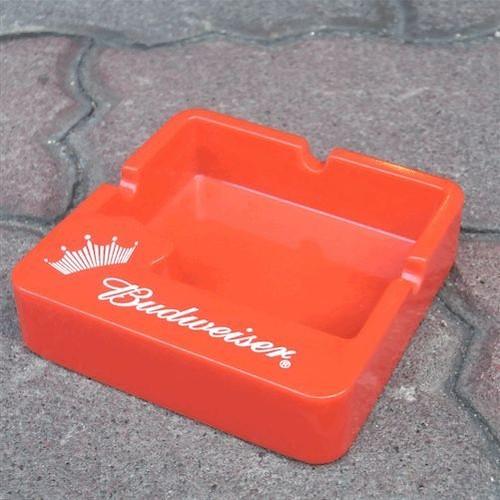 企業販促 a.k.a. ノベルティ灰皿 Budweiser