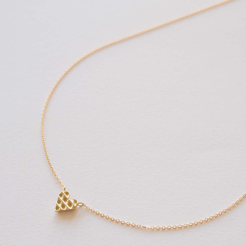 Heart Shape Necklace - X模様