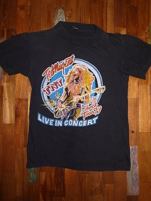 TED NUGENT 70'S TOUR T-SHIRTS