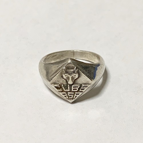 Vintage CUB SCOUT Silver Ring ②