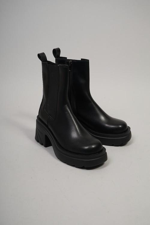 SIDE GOA SHORT BOOTS (BLACK) 2108-83-17