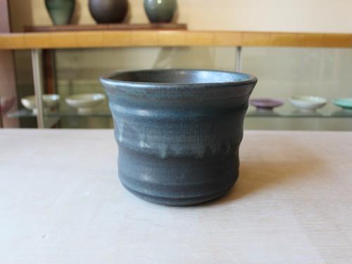 B420 植木鉢 Black&Green (L)