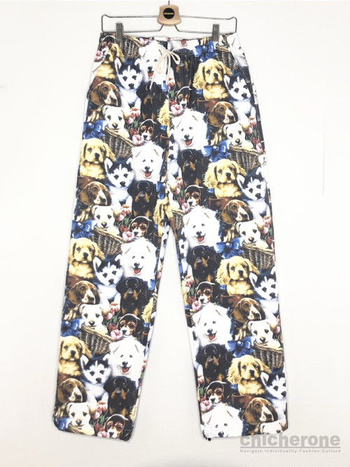 【DOMINANT】PUPPY WIDE PANTS