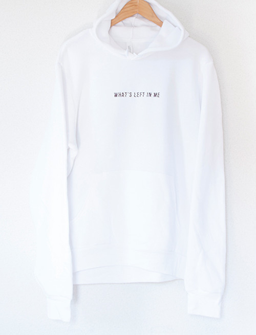 【THE PLOT IN YOU】Drowning Hoodie (White)