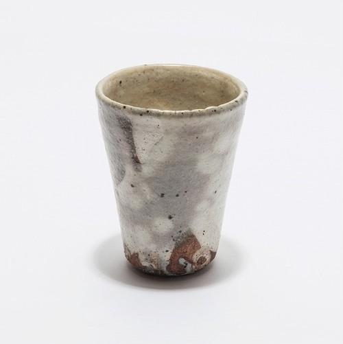越前焼 橙 ビアカップ(BEER&CRAFT期間限定)