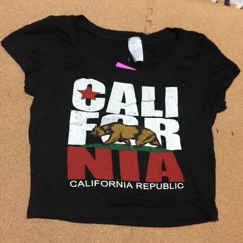 インポート/CALIFORNIAロゴショートTシャツ