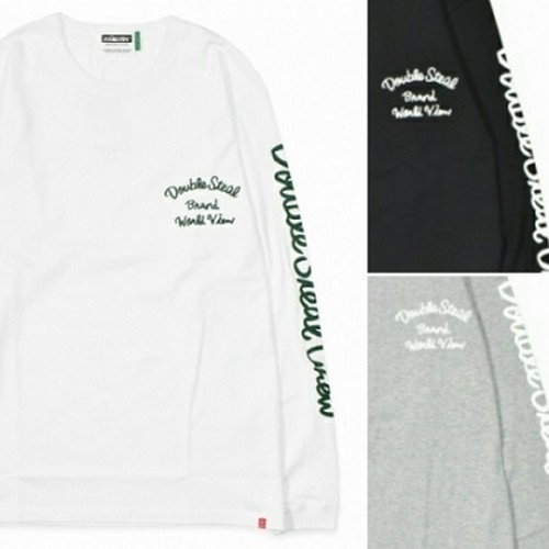 DOUBLE STEAL Script Arm L/S TEE