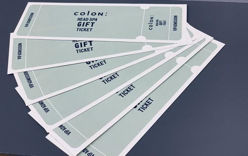 colon: Head Spa Gift Ticket 60min