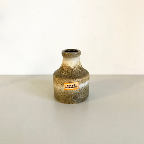 "Vintage W.Germany Pottery Vase ""FAT LAVA"" 550/10 西ドイツ"
