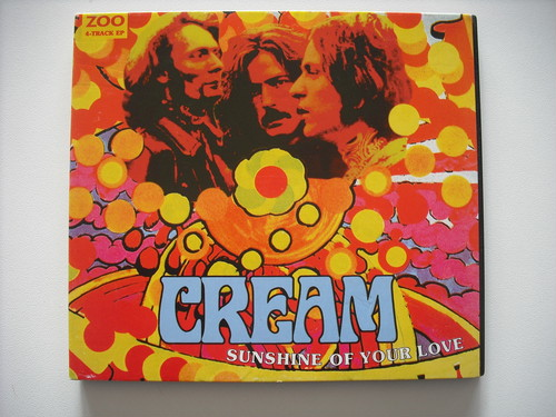【CD Single】CREAM (ERIC CLAPTON) / SUNSHINE OF YOUR LOVE (4TRACK EP)